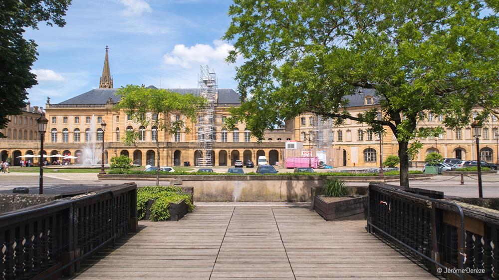 Visiter la Place de la Comédie de Metz