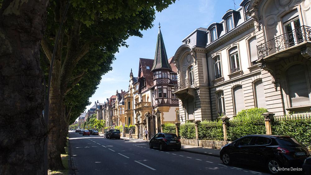 Visiter l'Avenue Foch de Metz