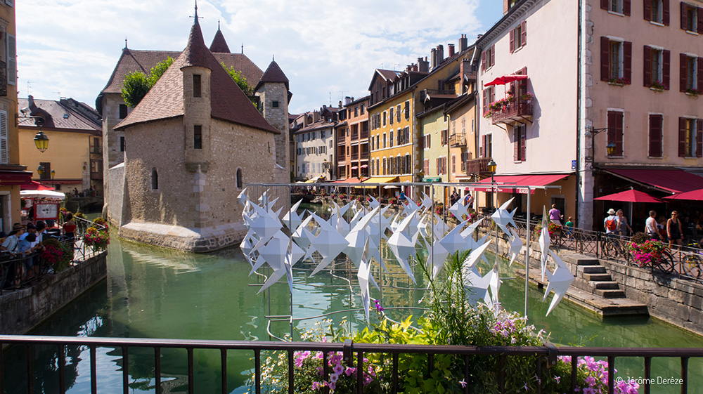 Voyager à Annecy