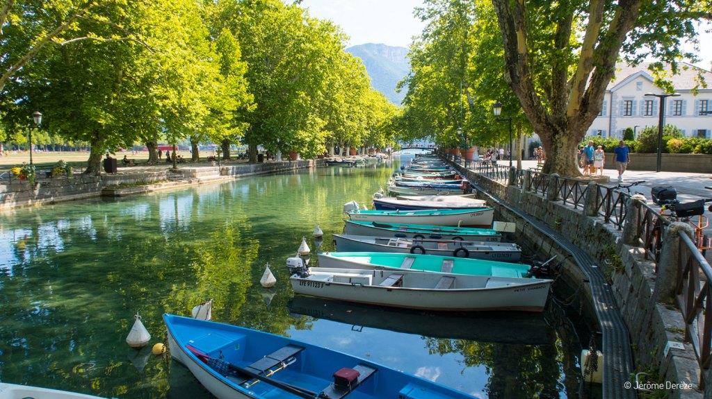 Les canaux à Annecy