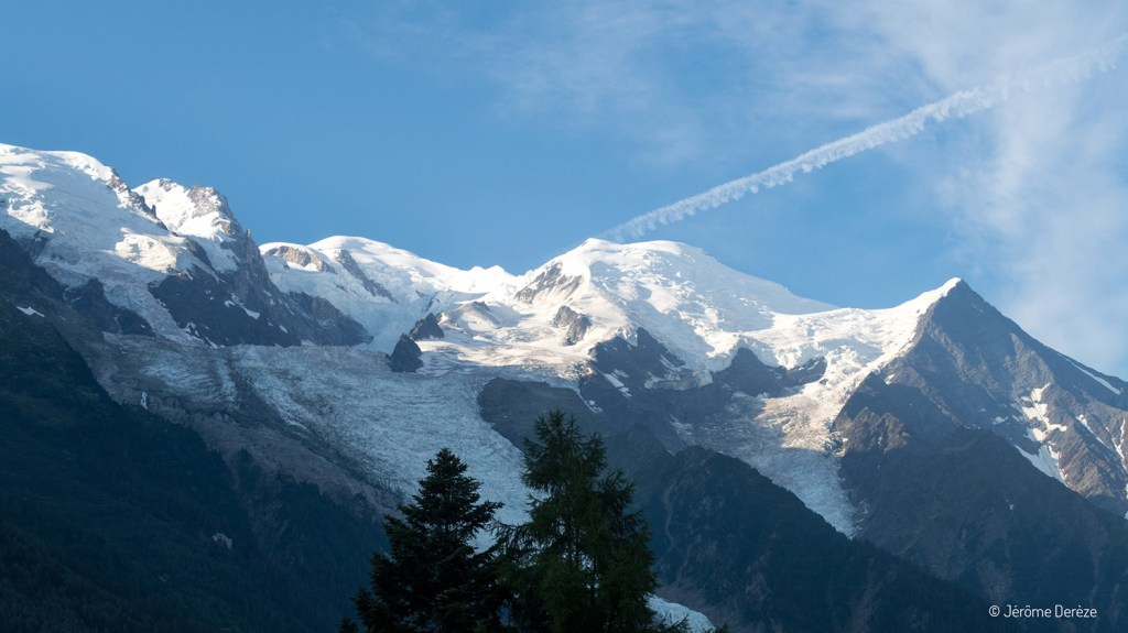 Voyager à Chamonix et voir le Mont-Blanc