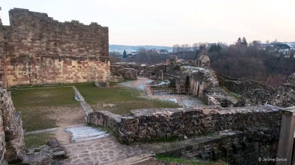 Ruines du Château d'Épinal