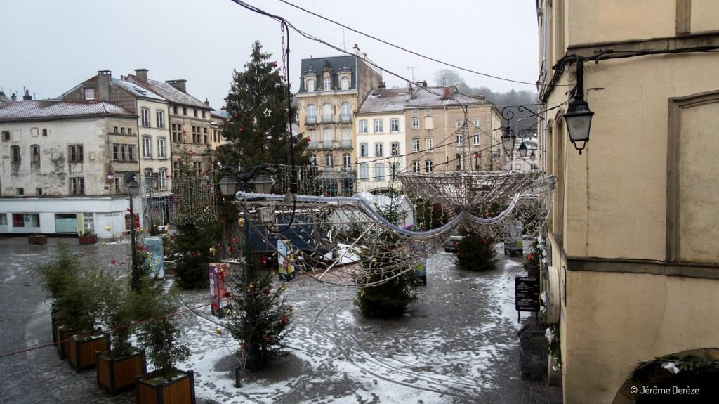 Place des Vosges à Épinal