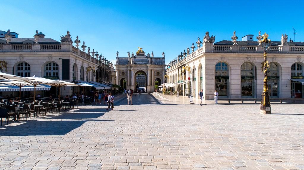 Arc Héré sur la Place Stanislas à Nancy