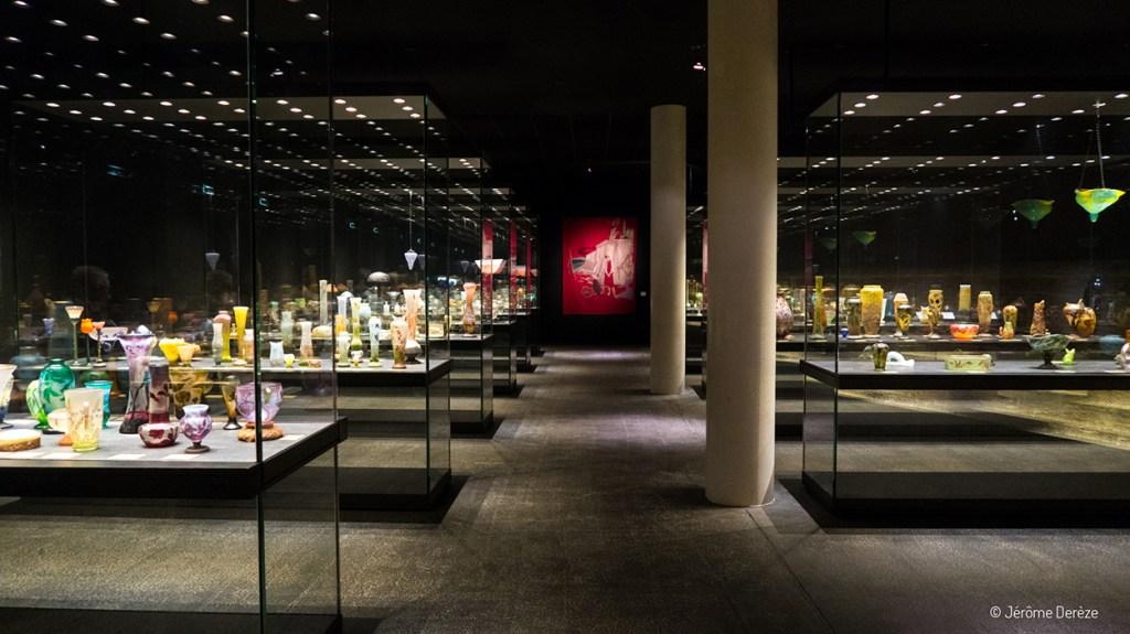 Verrerie musée des beaux arts de nancy