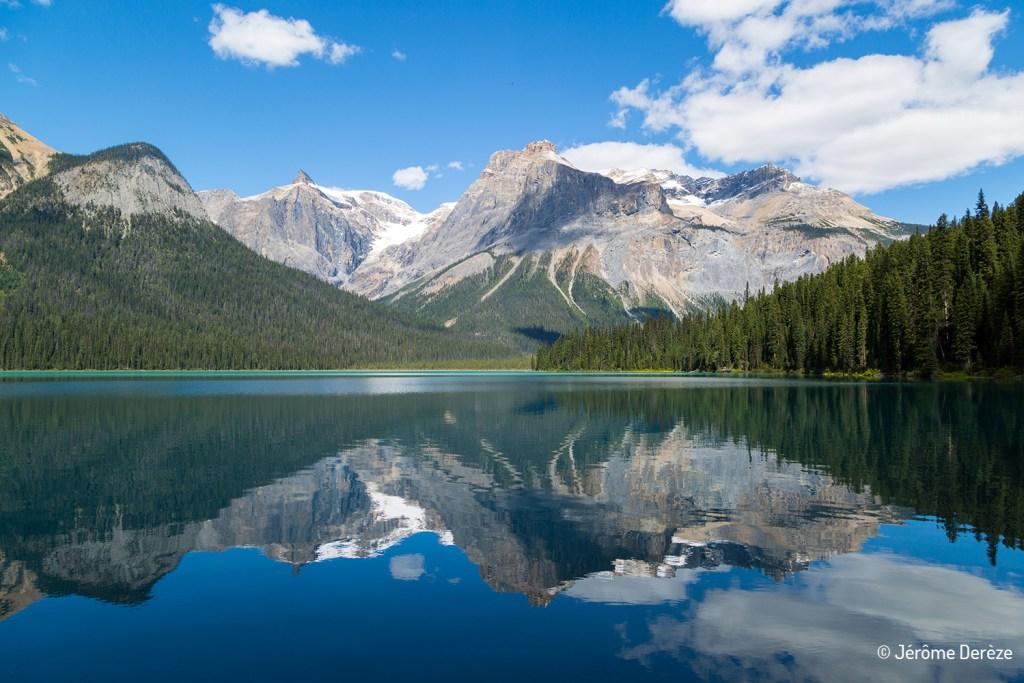 lac au parc national yoho