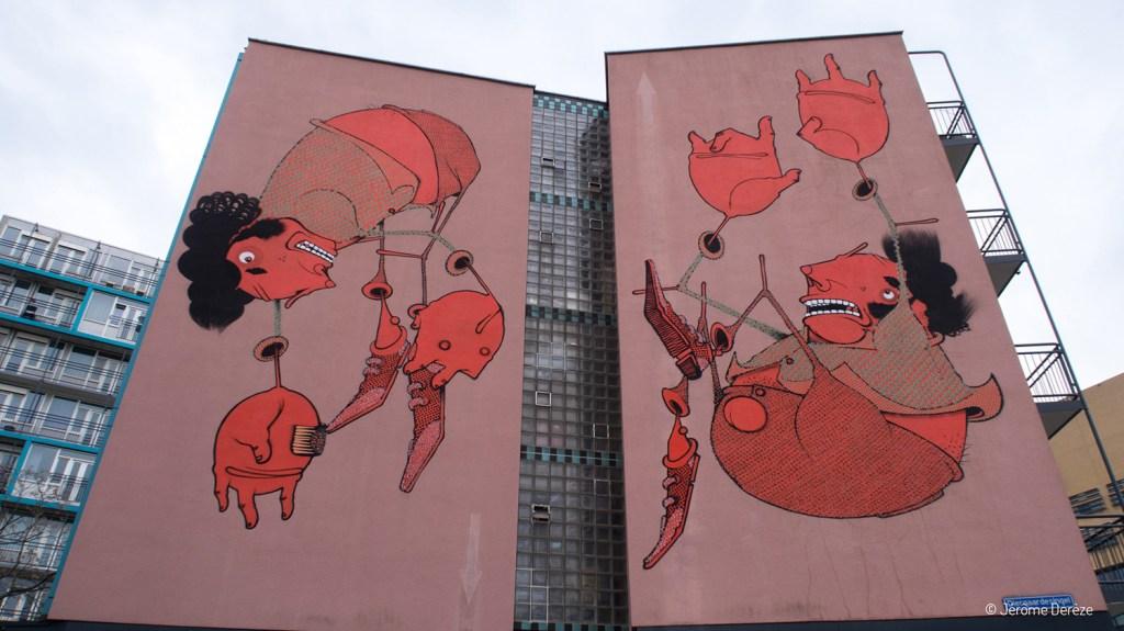 street art à Rotterdam