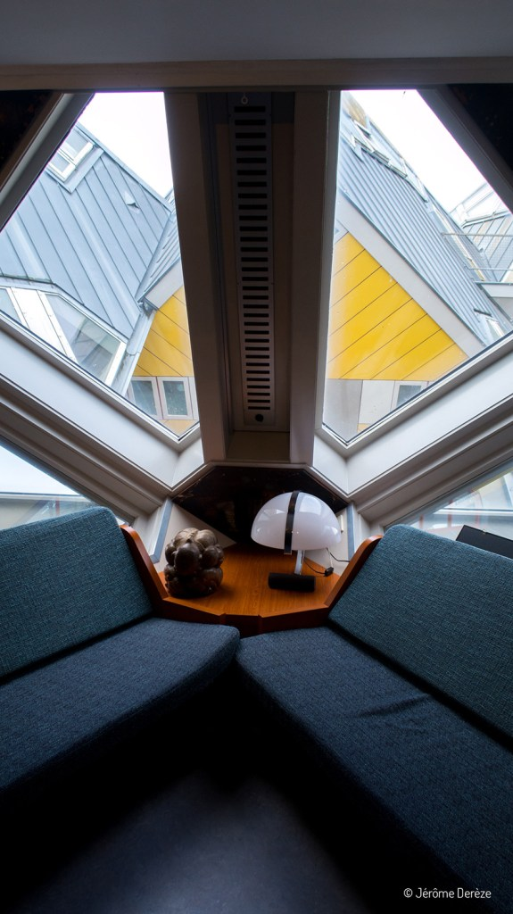 intérieur des maisons cubiques à Rotterdam