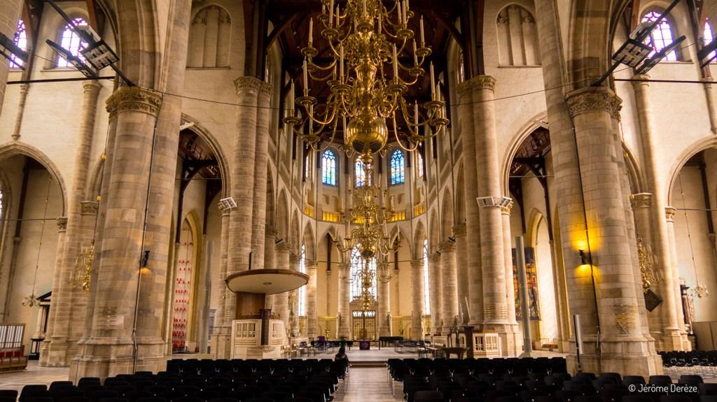 Intérieur de l'église Saint-Laurent de Rotterdam