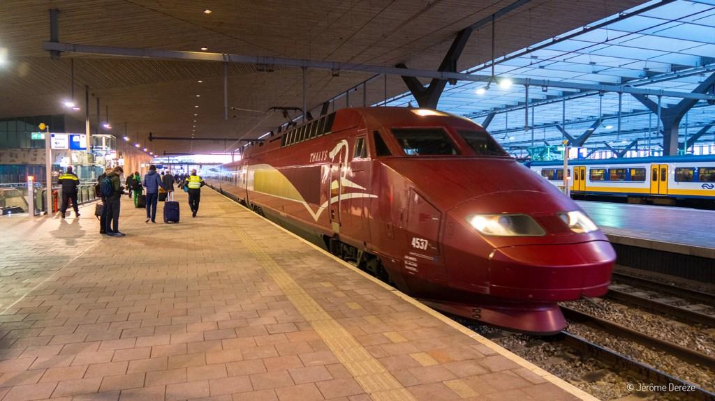 Thalys à Rotterdam