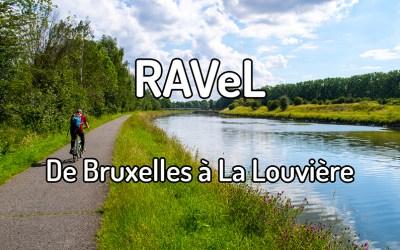 Parcourir le RAVeL de Bruxelles à La Louvière