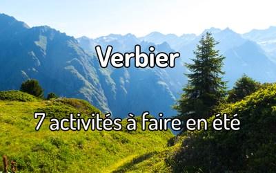 7 activités à faire à Verbier en été