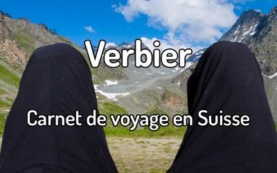 Carnet de voyage à Verbier