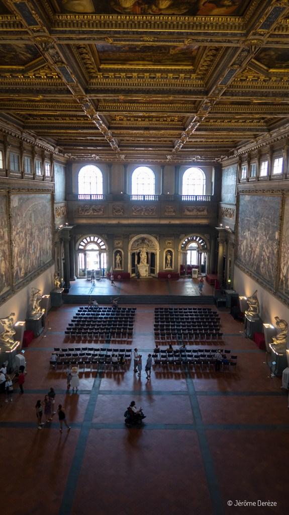 Grande salle du Palazzo Vecchio