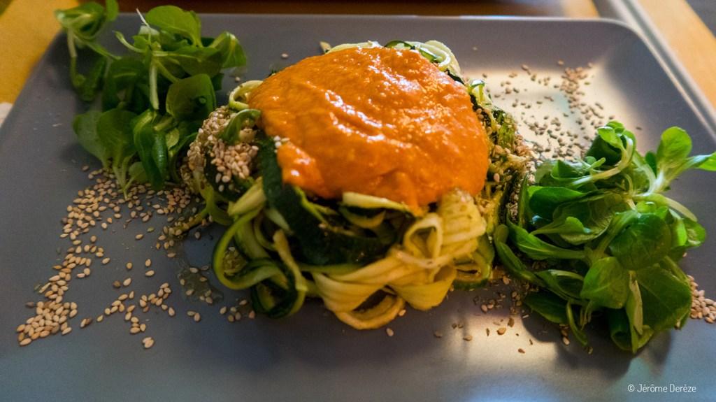 Manger vegan le soir à Florence - Il vegano