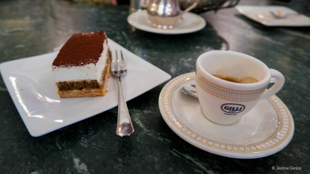 Manger à Florence - Gilli