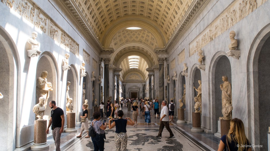 Couloir du Musée du vatican