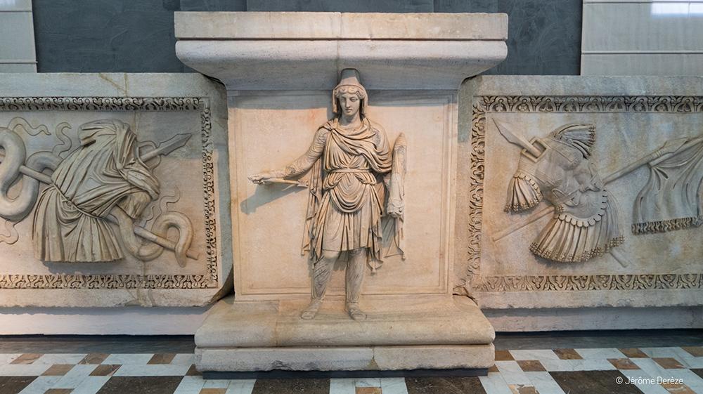 Vestiges du Musée archéologique national de Naples