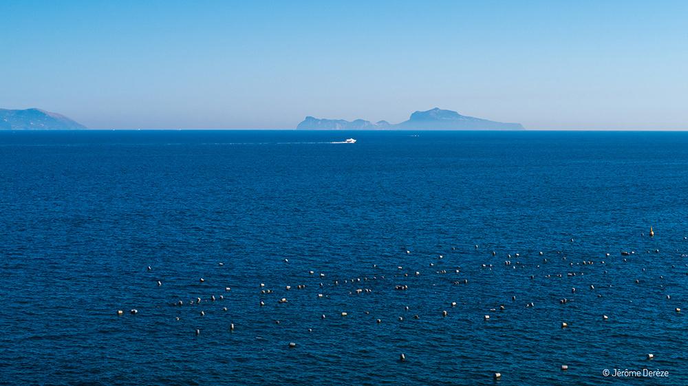 île de Capri depuis naples