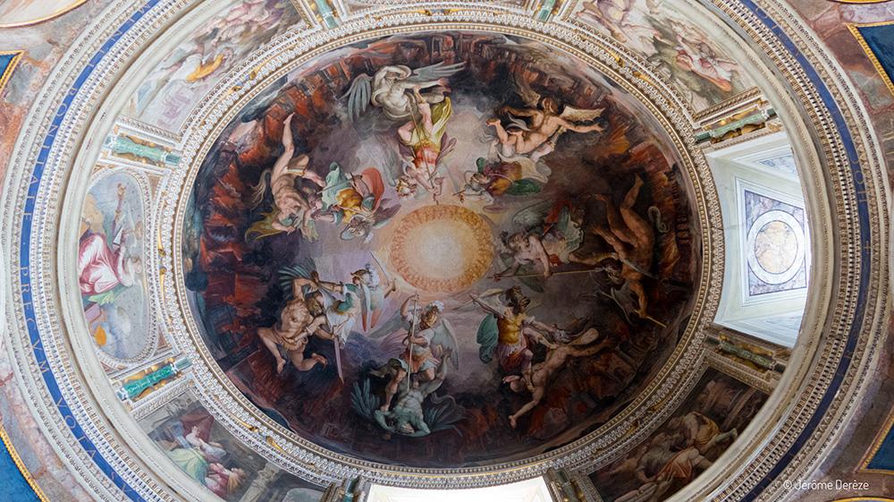 Fresques aux Musées du Vatican