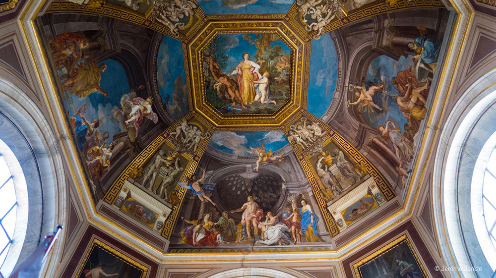 Plafond aux Musées du Vatican