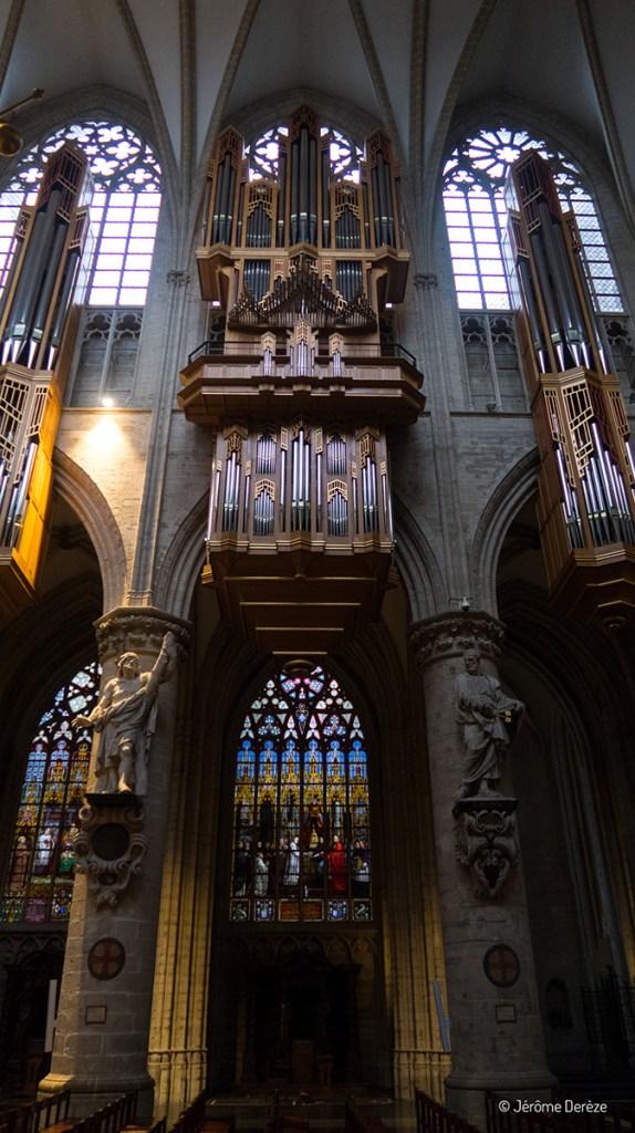 Orgue de la Cathédrale des Saints Michel et Gudule