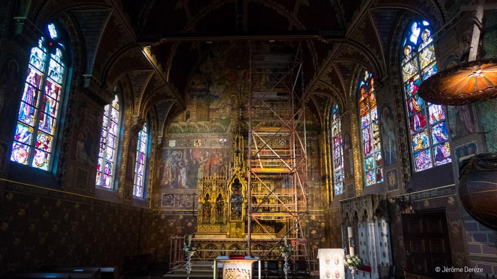 Intérieur de la Basilique du Saint-Sang de Bruges