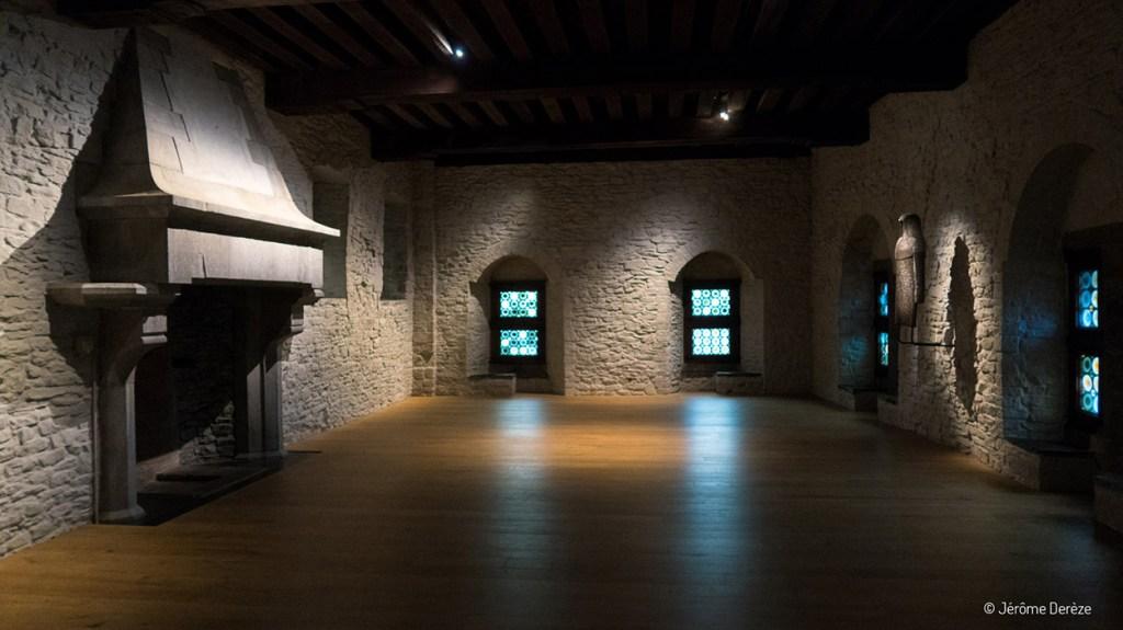 Intérieur du Château des Comtes de Flandre à gand