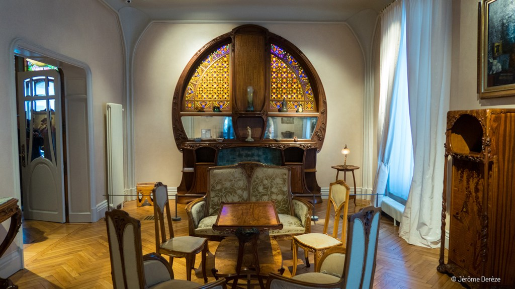 Art Nouveau à Nancy - Salon de la Villa Majorelle