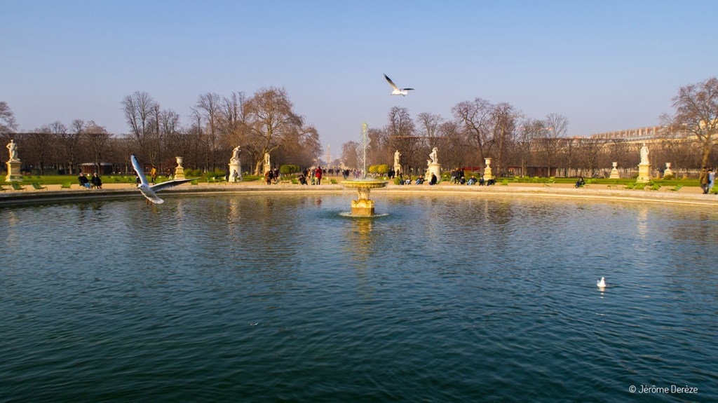 Fontaine des Jardins de paris