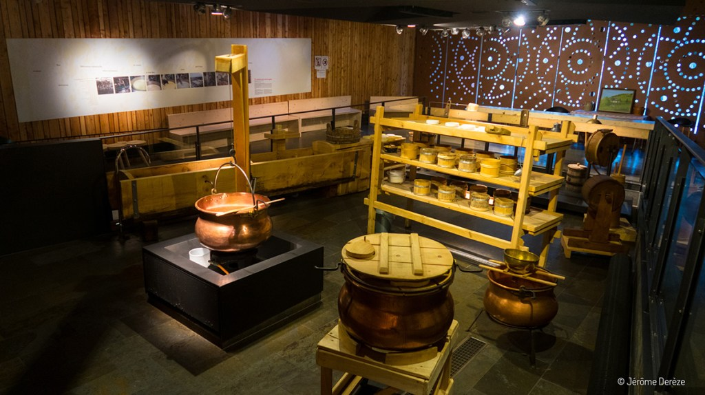 Maison du fromage à Gunsbach