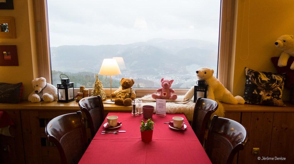 Hôtel Le panorama dans le massif des vosges