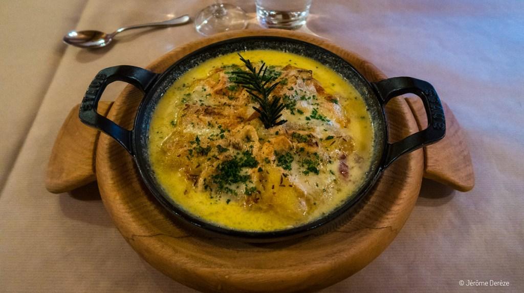L'auberge du Schantzwasen et le restaurant