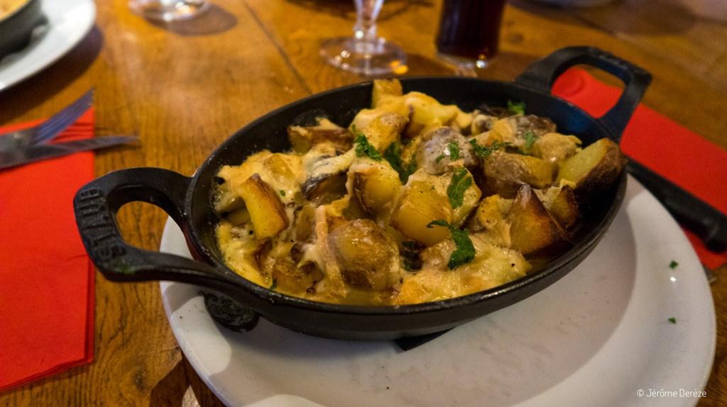 Manger à l'auberge La Chaumière au ballon d'Alsace