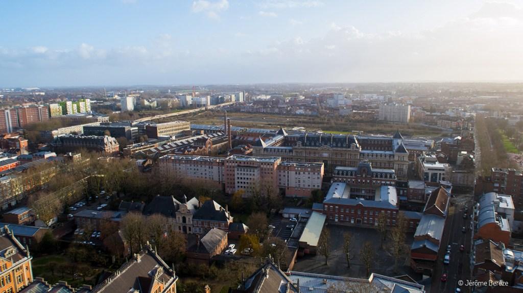 Patrimoine de Lille depuis le Beffroi