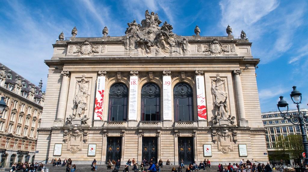 Extérieur de l'Opéra de Lille