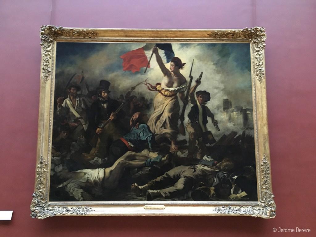 La liberté guidant le peuple de Delacroix au Louvre