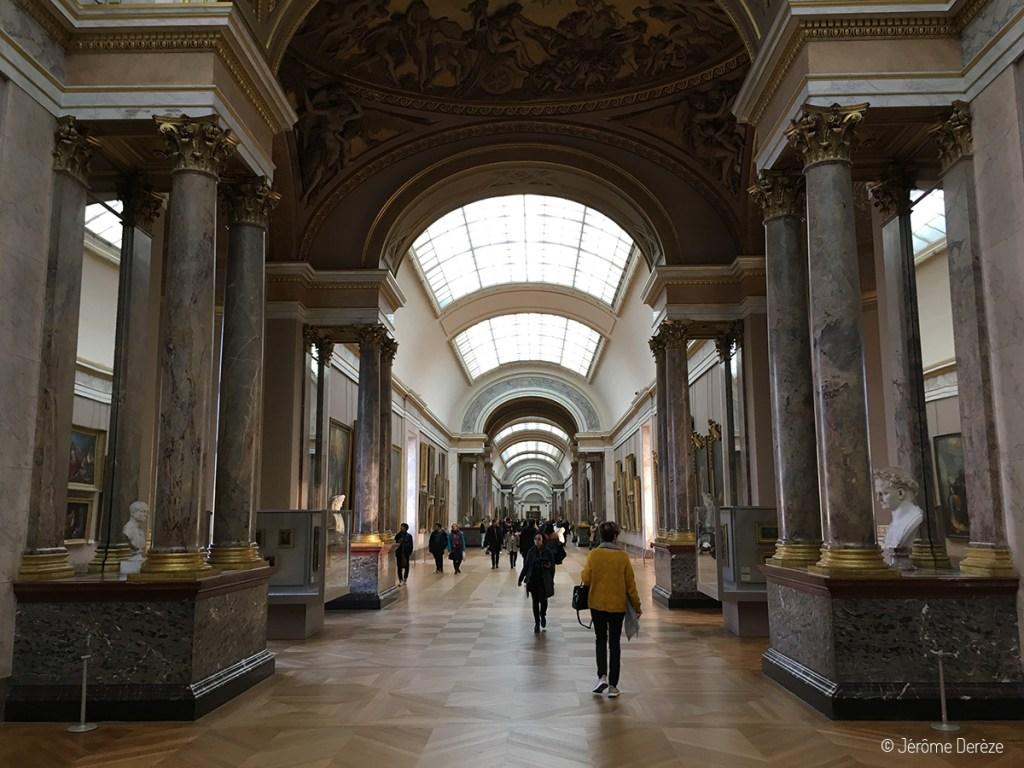 Plan pour visiter le Louvre