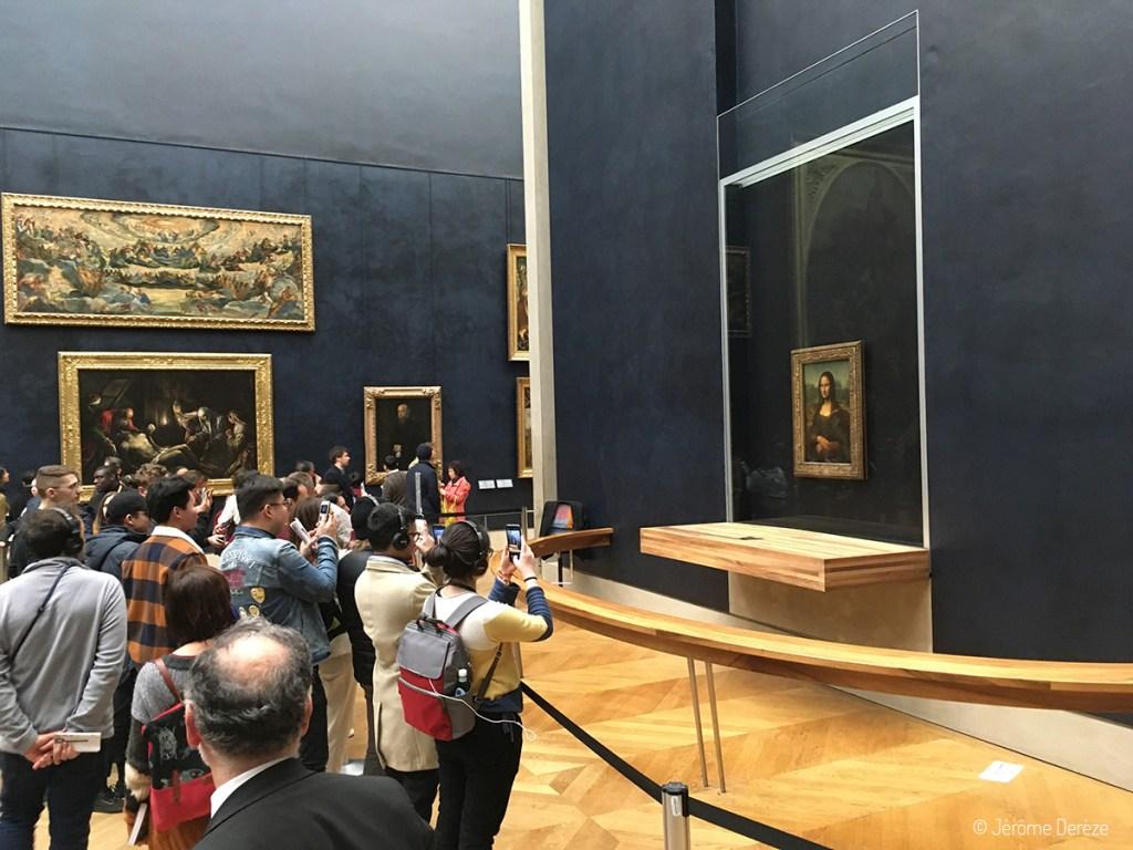 Joconde au Louvre