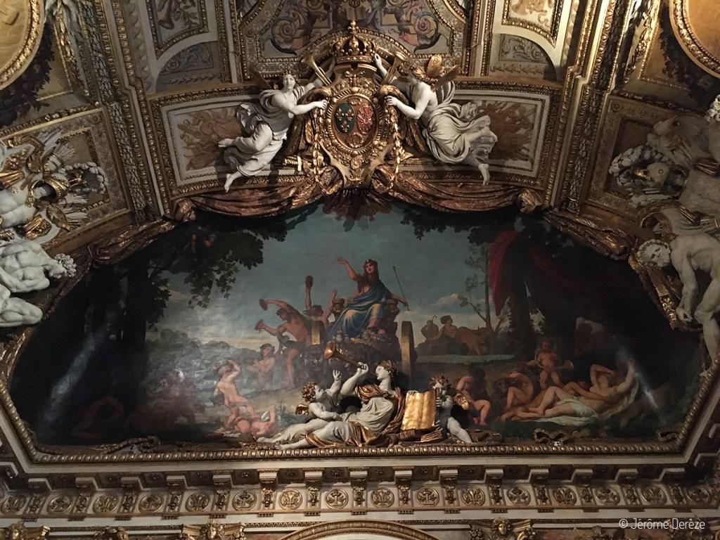 billets pour réserver au Louvre et décorations du Louvre