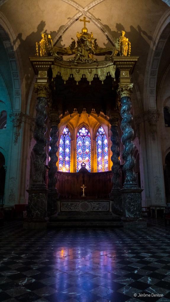 Intérieur de la Cathédrale Notre-Dame de Verdun