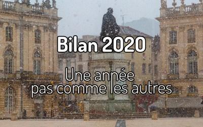 Bilan 2020 – Une année pas comme les autres