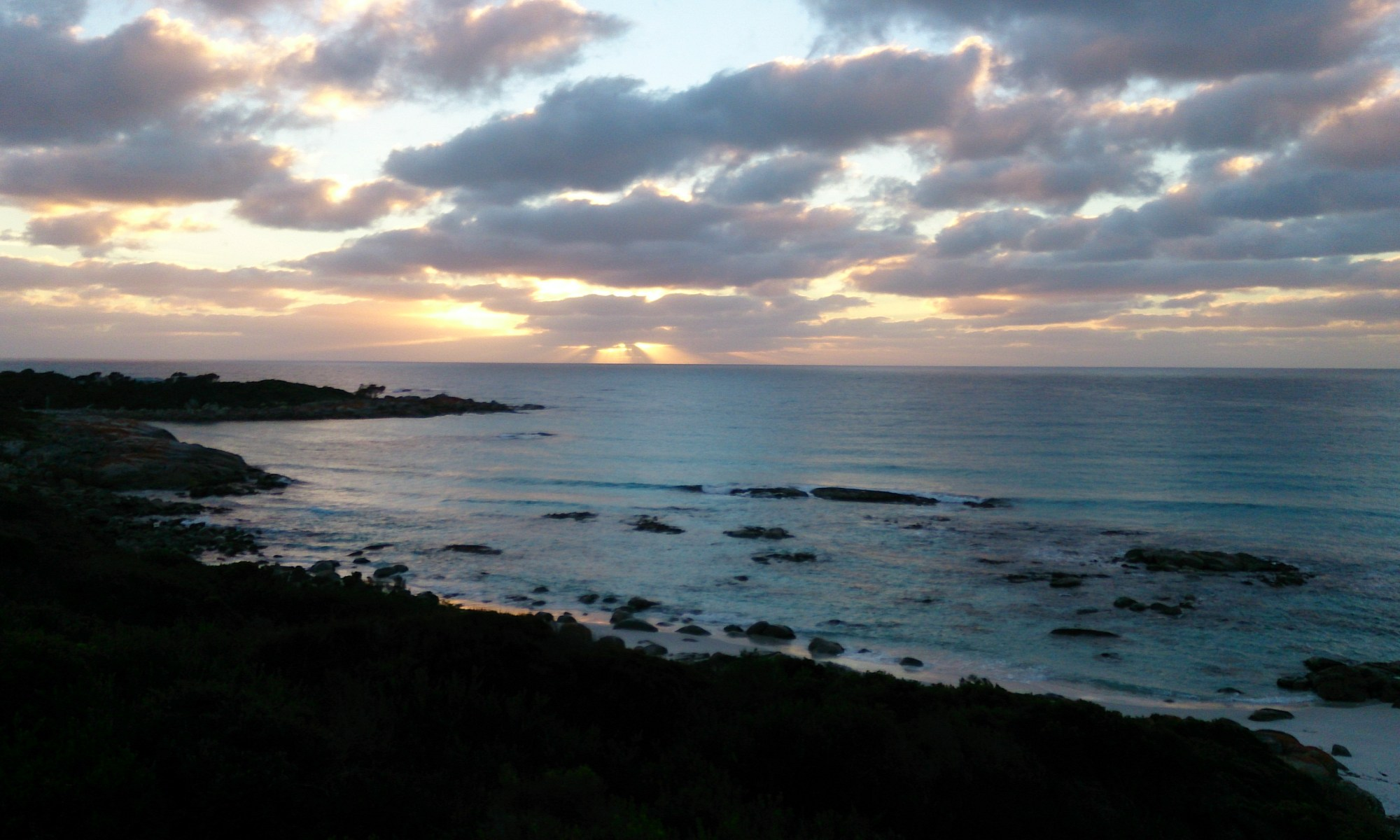 Sunrise, Bay of Fires