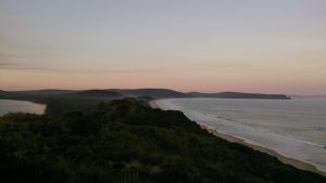 View from The Neck Lookout to Cape Queen Elizabeth