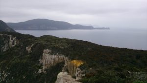 View of Cape Hauy from Cape Pillar