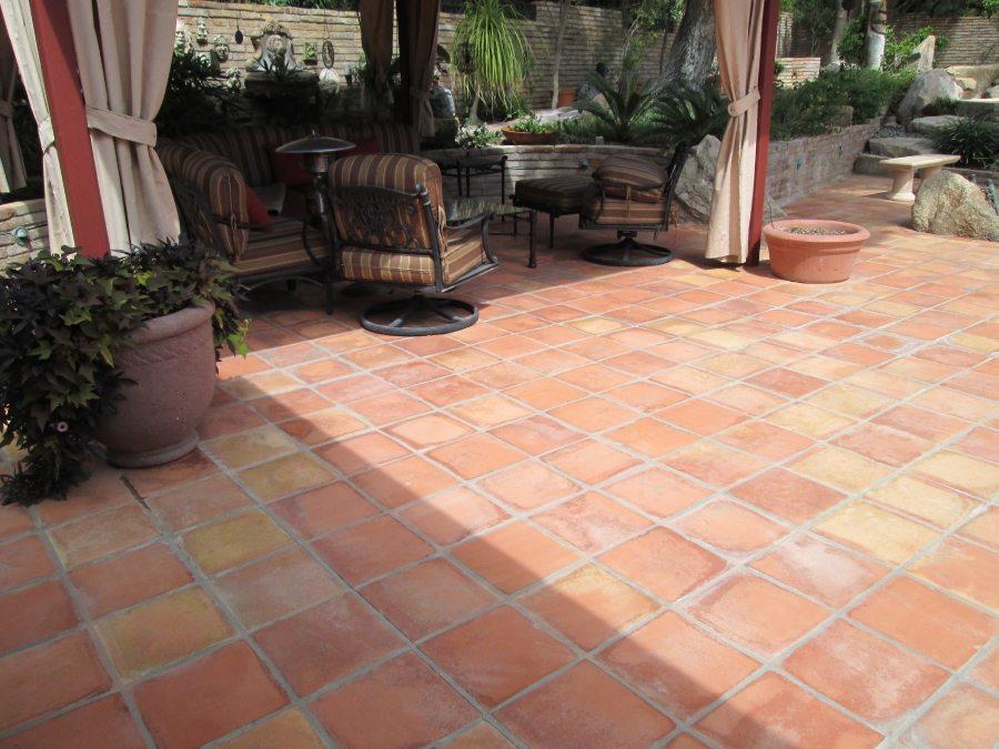 saltillo tile patio paradise valley