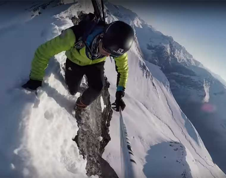 "Video ""The Ridge"" con Kilian Jornet"