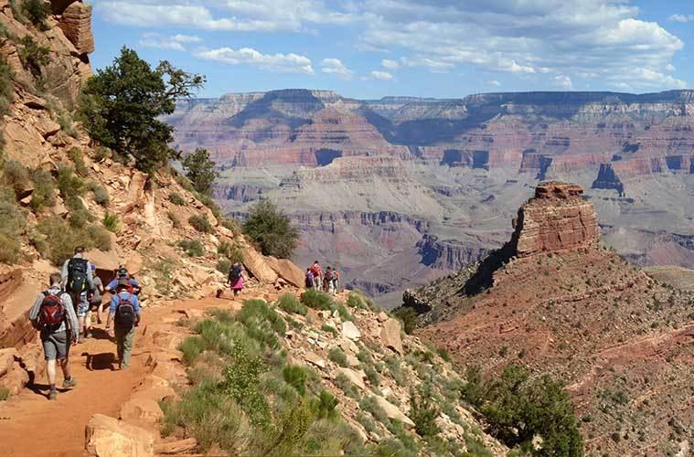 Senderistas descendiendo por South Kaibab Trail / Foto: Grand Canyon National Park (Flickr)