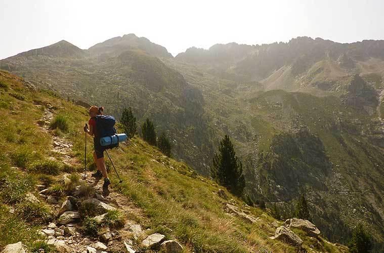 Eth Setau Sagèth: una manera tranquila de recorrer Val d'Aran . Subiendo al Port de Rius / Foto: Travesía Pirenaica