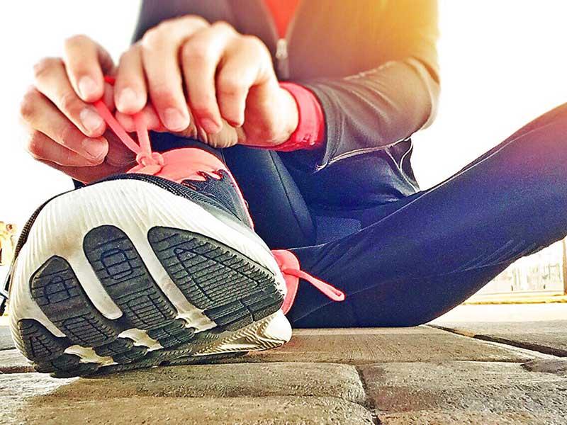 Evolución del calzado deportivo para correr